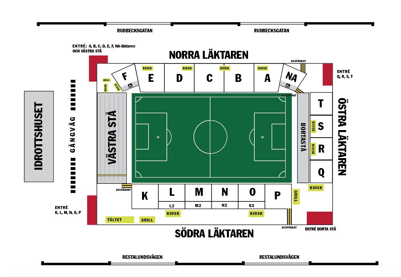 sörbyvallen örebro karta Line  Up med ÖSK, anmälan   IF Eker Örebro P 07   laget.se sörbyvallen örebro karta