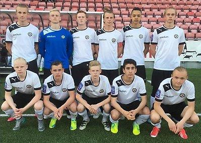 U16  Stark seger mot Norrköping 263de67f8b467
